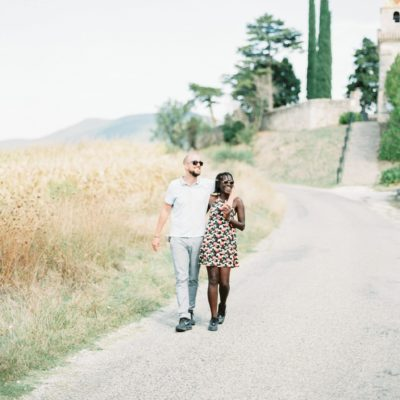 Photo d'un photographe de mariage dans la Drome d'un couple